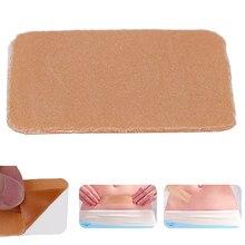 3,5x5 см силиконовый шрам гель удаляемые полоски паста медицинская травма ожога шрам лист кожи ремонт шрам терапия патч удаляемый шрам