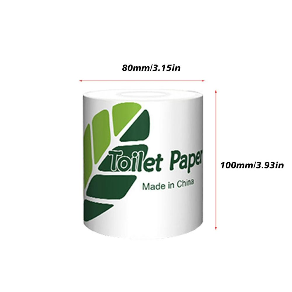 Roll Paper Household Roll Toilet Paper High Quality Natural Pulp Roll Paper Portable Toilet Paper Practical