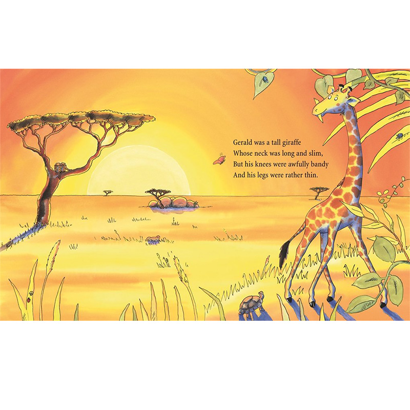 Giraffes Can't Dance By Giles Andrede English Stories Picture Card Book For Children Reading Kids Early Educational Learning