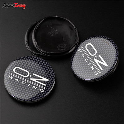 4pcs 55mm 52mm OZ Racing M582 Car Wheel Center Caps For Rims Cover Fit For Alleggerita Ultraleggera Superturismo-in Hub Caps from Automobiles & Motorcycles