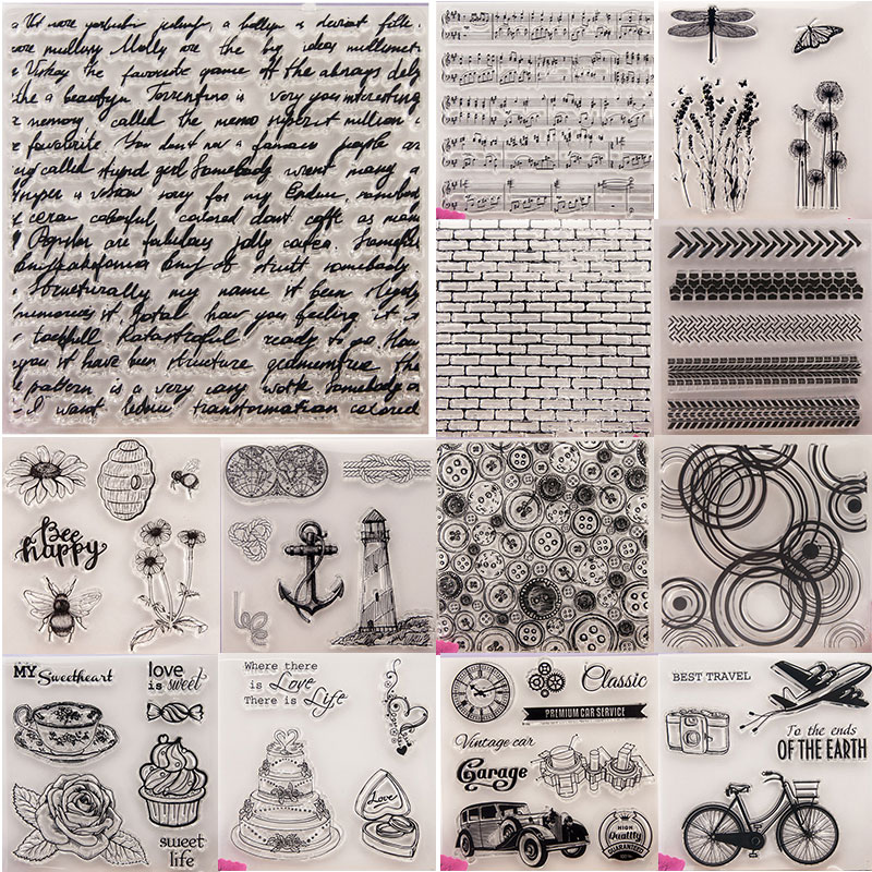 NCraft Clear Stamps N1266 Scrapbook Paper Craft Clear Stamp Scrapbooking