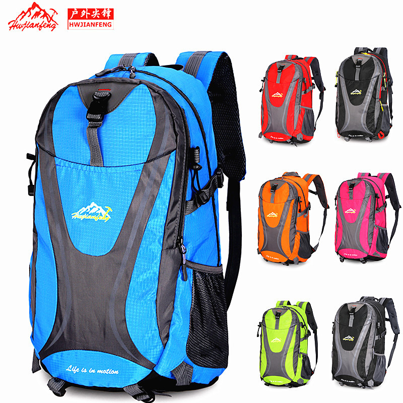 40L Waterproof Outdoor Sports Backpack Travel Hiking Camping Rucksack Bag Unisex