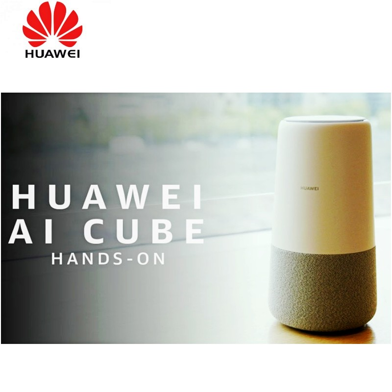 Huawei AI Cube Alexa B900-230 Smart Speaker Alexa + 4G WiFi Router Built In image