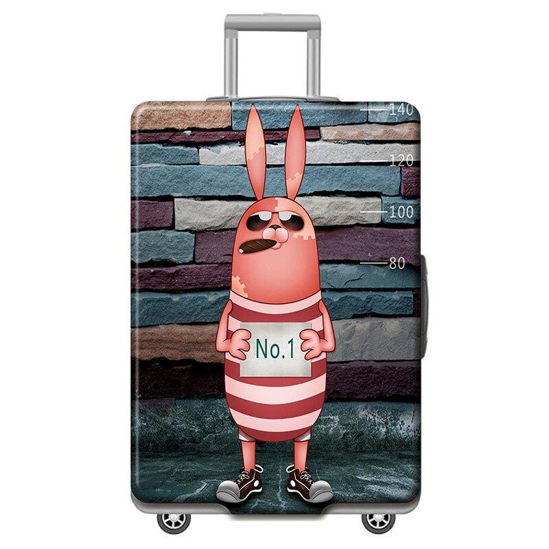 HMUNII карта мира, дизайнерский защитный чехол для багажа, Дорожный Чехол для чемодана, эластичные пылезащитные Чехлы для 18-32 дюймов, аксессуары для путешествий - Цвет: M-Luggage cover