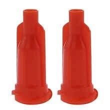 Glue dispensing syringe tip Orange cap hat 12000 PCS/lot