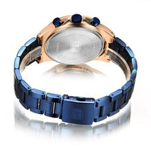 2020  MINI FOCUS  Luxury Business Full Steel Strap relogio masculino