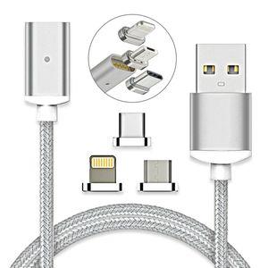 Image 1 - Câble magnétique USB USB Type C de Charge rapide chargeur magnétique chargeur de données câble Micro USB câble de téléphone portable cordon USB