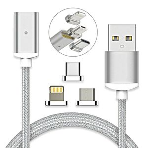 Image 1 - USB Magnetic Cable Fast Charging USB Type C Magnet Charger Data Charge Micro USB Cable Mobile Phone Cable USB Cord