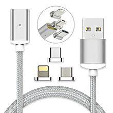 Usb 磁気ケーブル高速充電 usb タイプ c マグネット充電器データ充電マイクロ usb ケーブル携帯電話ケーブル usb コード