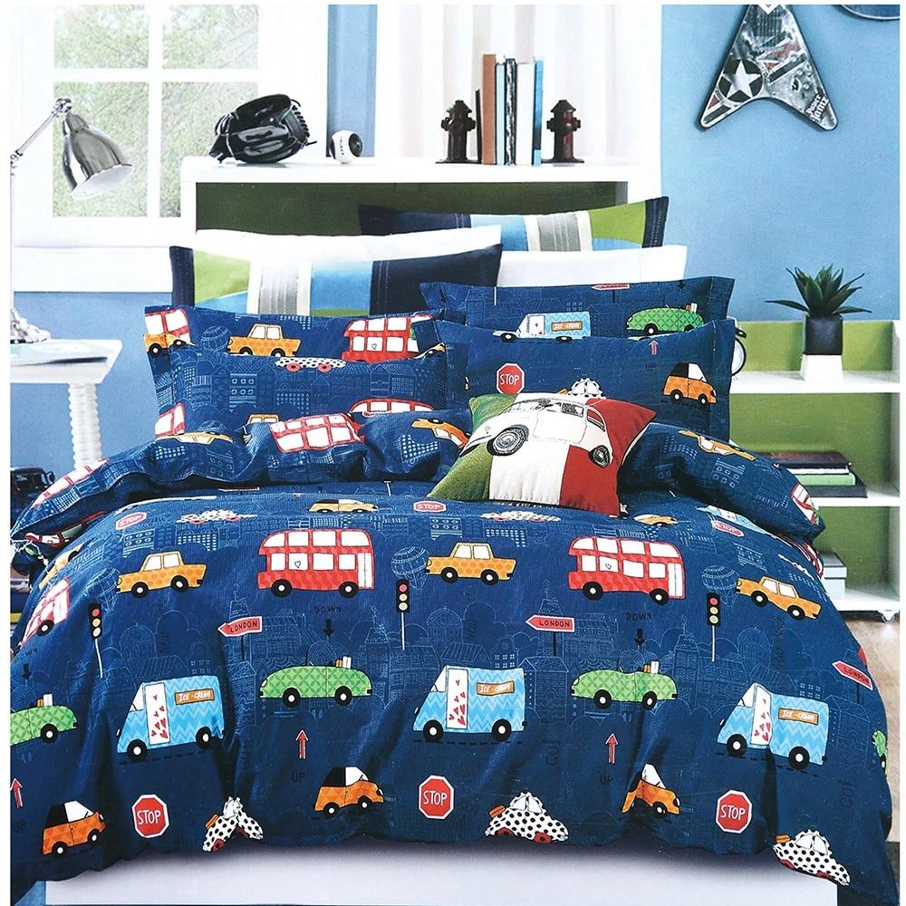 cars 3d bedding set kids spaceship duvet cover set present bedclothes twin full queen comforter cover set boys girls bed linen