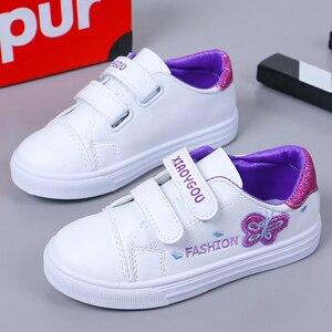 Image 3 - Bekamille ילדי ספורט נעלי סתיו תינוקות בנות תינוק רקמת פרפר נעלי ילדים מקרית נעלי ספורט סטודנט נעלי ריצה