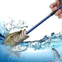 Lança arma de pesca gancho removedor isca leve pólo mergulho lança arma de pesca detacher tubo gancho extrator ferramentas de pesca