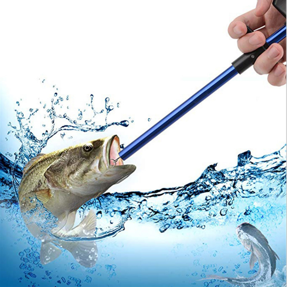 Spear Fishing Gun Hook Remover Lure Lightweight Pole Diving Spear Fishing Gun Detacher Tube Hook Extractor Fishing Tools