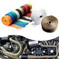 Auto Und Motorrad Auspuffrohr InsulationTape Reduzierung Haube Wärme Nicht brennbaren Turbolader Abgas Tasche Schützen Motor Teile