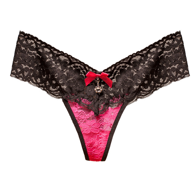 women Sexy Micro Lace Patchwork G string lace thong panties underwears new styles 2019 2