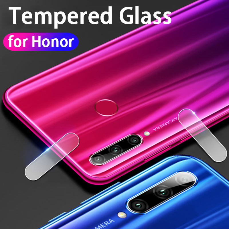 Image 2 - 2in1 protective glass for huawei honor 10i tempered glas on huwei honer 10 i honor10i HRY LX1T camera lens screen protector film-in Phone Screen Protectors from Cellphones & Telecommunications
