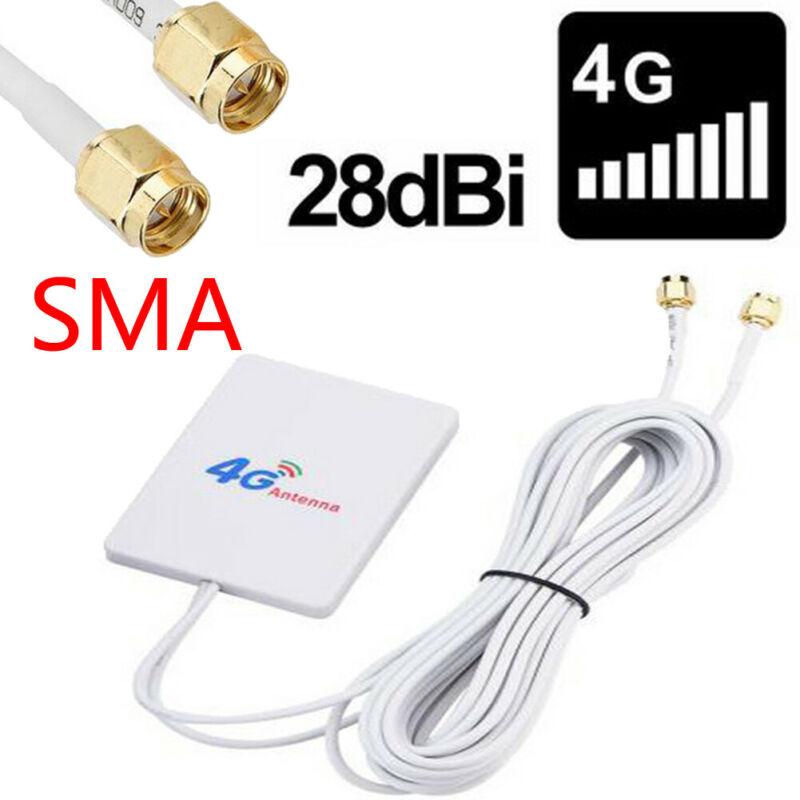 28dBi 4G 3G LTE 2 X SMA Broadband Antenna Signal Amplifier Booster 690-2700MHz