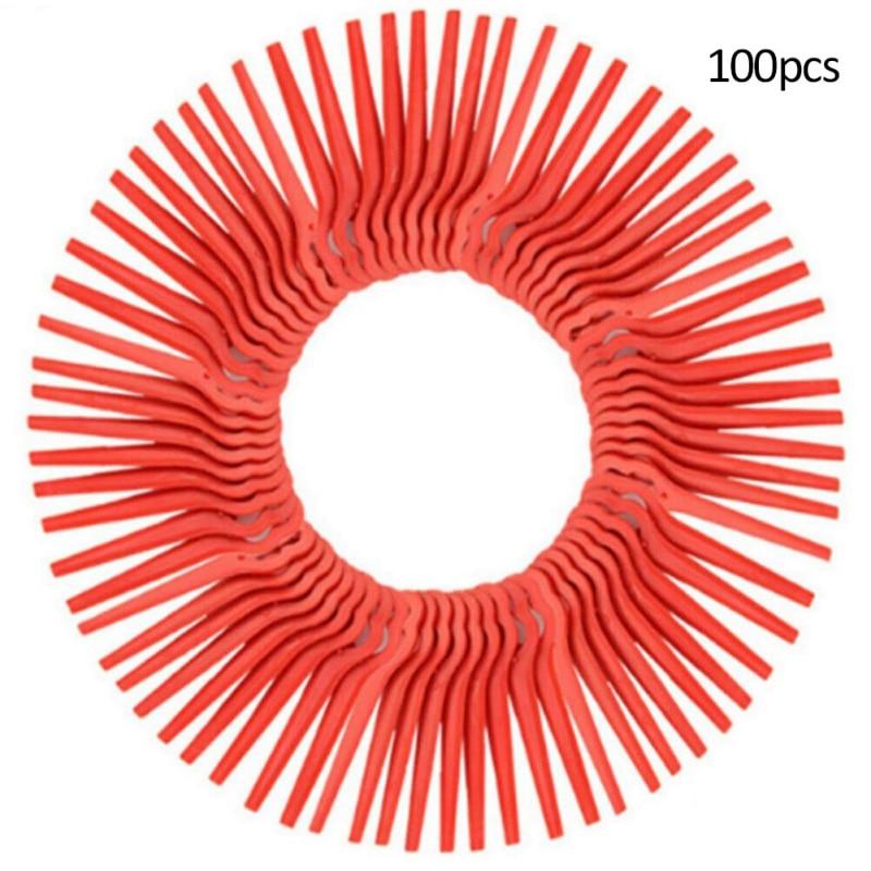 Universal Grass Trimmer Head 3 Nylon Plastic Lines 3 Blades Strimmer Brush Cutter Head Garden Tools Accessories