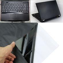 "3D Carbon Fibre Skin Decal Wrap Sticker Case Cover For 17"" PC Laptop Notebook"