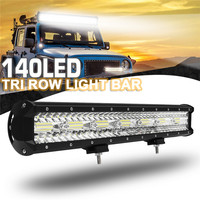 20 Inch 980W Led Light Bar Combo Spot Flood Beam LED Work Light for Driving Offroad Boat Car Tractor Truck 4x4 SUV ATV 12V 24V