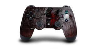 Image 2 - Bloodborne защитный Стикеры Крышка для PS4 контроллера DualShock 4 Playstation 4 Pro Slim наклейка PS4 кожи Стикеры винил
