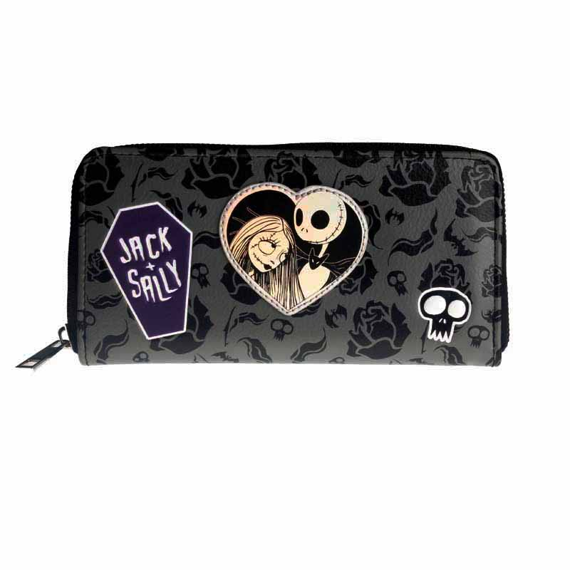 The Nightmare Before Christmas Wallet Large Capacity Wallets Female Purse Lady Purses Women Card Holder DFT5066