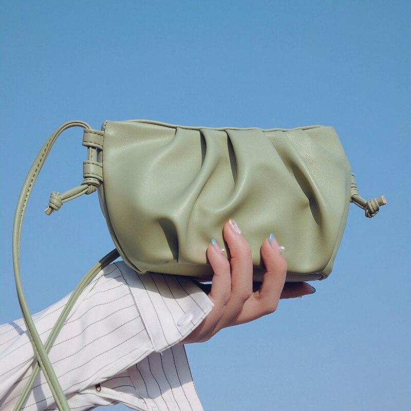 Crossbody Shoulder Bags For Women Dumpling Bag Ladies Cloud Pouch Female Handbag And Purse Female Clutches Small Hobos