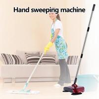 Durável mão push tipo vassoura vassoura mágica dustpan lidar com pacote de limpeza doméstica labor saving ferramentas de limpeza doméstica Vassoura manual     -