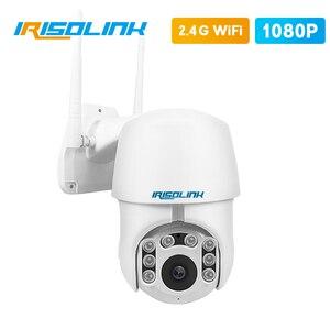 Купольная PTZ ip-камера с цифровым зумом, 1080P, Wi-Fi, 4-кратное автоматическое отслеживание, ИК-камера безопасности с ночным видением, водонепрони...