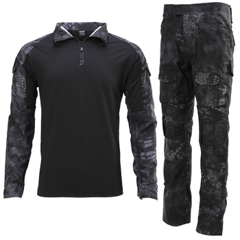 Military Uniform Tactical Camouflage Clothes Suit Men US Army Clothing Women Airsoft Military Combat Shirt Cargo Pants Knee Pads 8