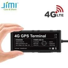 JIMI 4G GPS-трекер GV40 WIFI хот-спот вождения водонепроницаемый локатор LTE с отключением масла Вибрация ACC тревога SOS через приложение для ПК