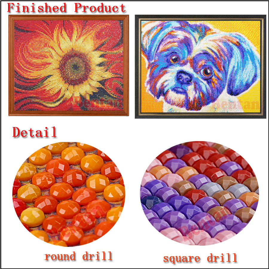 3 Panel diamond painting Abstract Painting rhinestone Pictures 5d cross stitch beads embroidery mosaic diamond round square