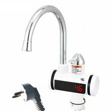 электрически водонагреватель  220В 3000Вт Кухня tankless смеситель