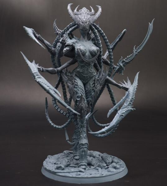 New Resin Figures Women Devil Model Kits (about 180mm)