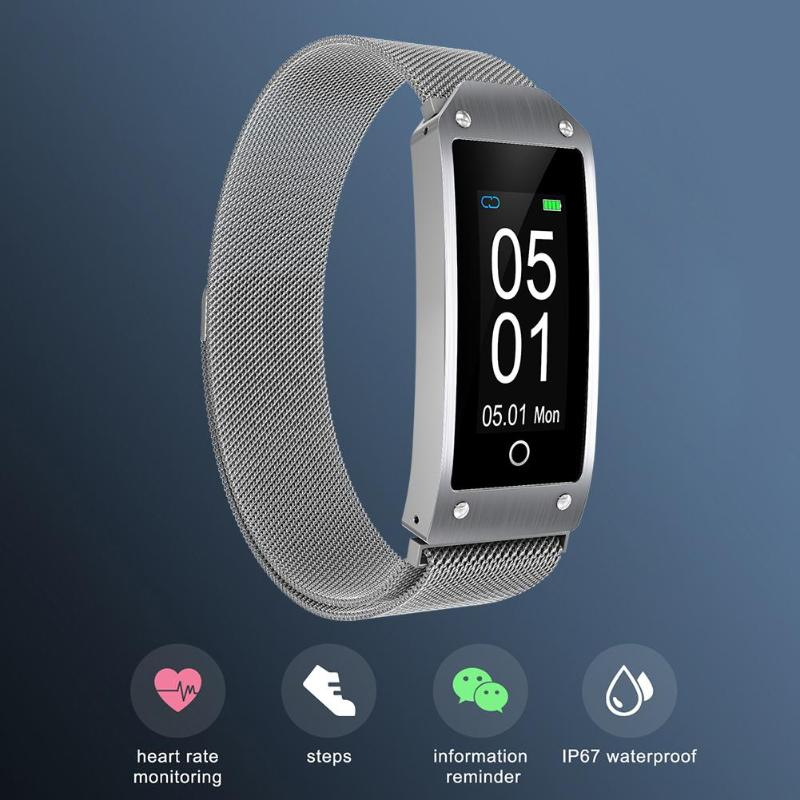<font><b>Y2</b></font> Smart Bracelet IP67 Waterproof Multi Sport Pedometer Heart Rate <font><b>Smartwatch</b></font> Charging 2h Standby 15 Days Working 7 Days image