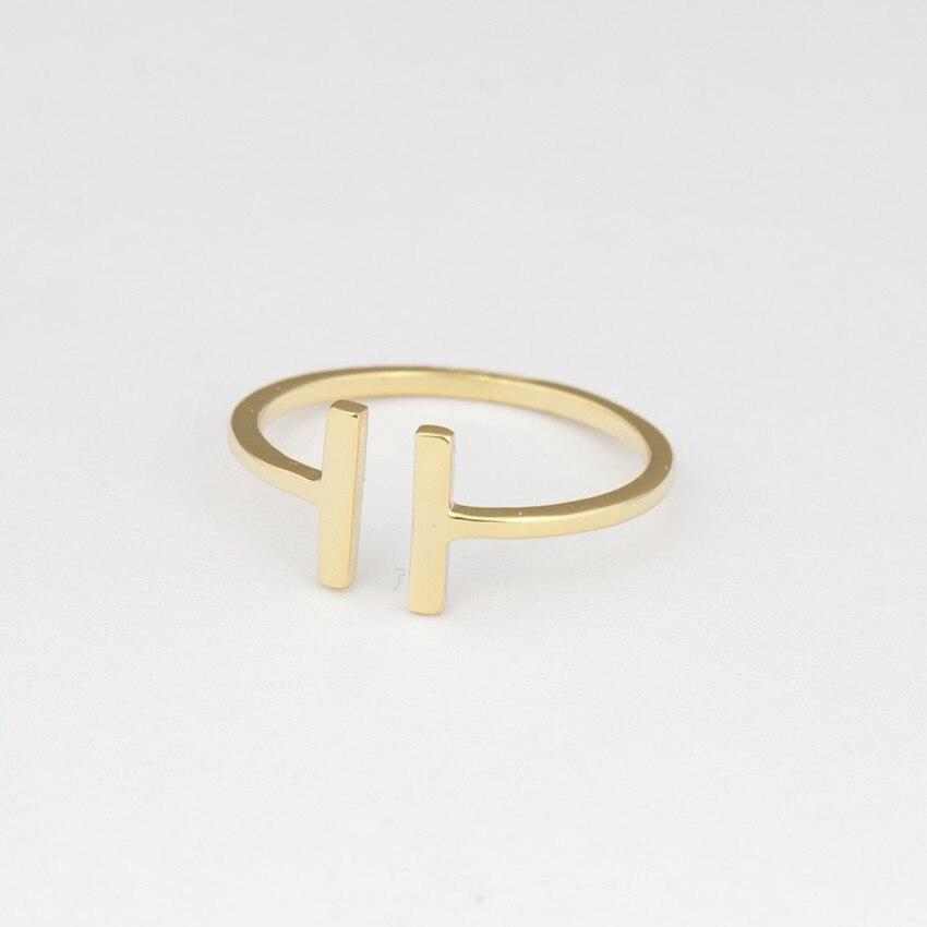 注ぐ 最も安い ファッション幾何指輪女性調節可能なラウンド三角形指リングミニマ宝石 DCTVICT