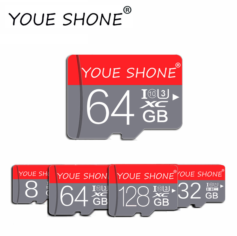 Hot Sale Memory Card Microsd TF Card 8GB 16GB 32GB 64GB Class 10 Micro SD Card Cartao De Memoria 128GB  Mini Map Card For Phones