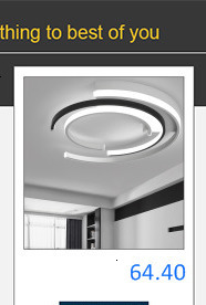 Hd768e4fa8d3a462789a6ba0328038f42N Bedroom Living room Ceiling Lights Lamp Modern lustre de plafond moderne Dimming Acrylic Modern LED Ceiling lamp for bedroom