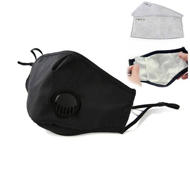 Kn95 N95 Anti Pollution PM2.5 Mouth Mask Dust Respirator Washable Reusable Masks Cotton Unisex Mouth Muffle For Allergy