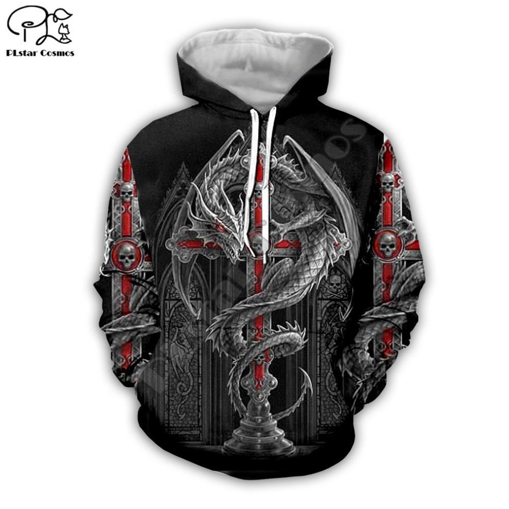 Women Men Retro I Am A Viking Tattoo Print 3D Native Hoodies Unisex Vintage Sweatshirts Zipper Pullover Tracksuit V5