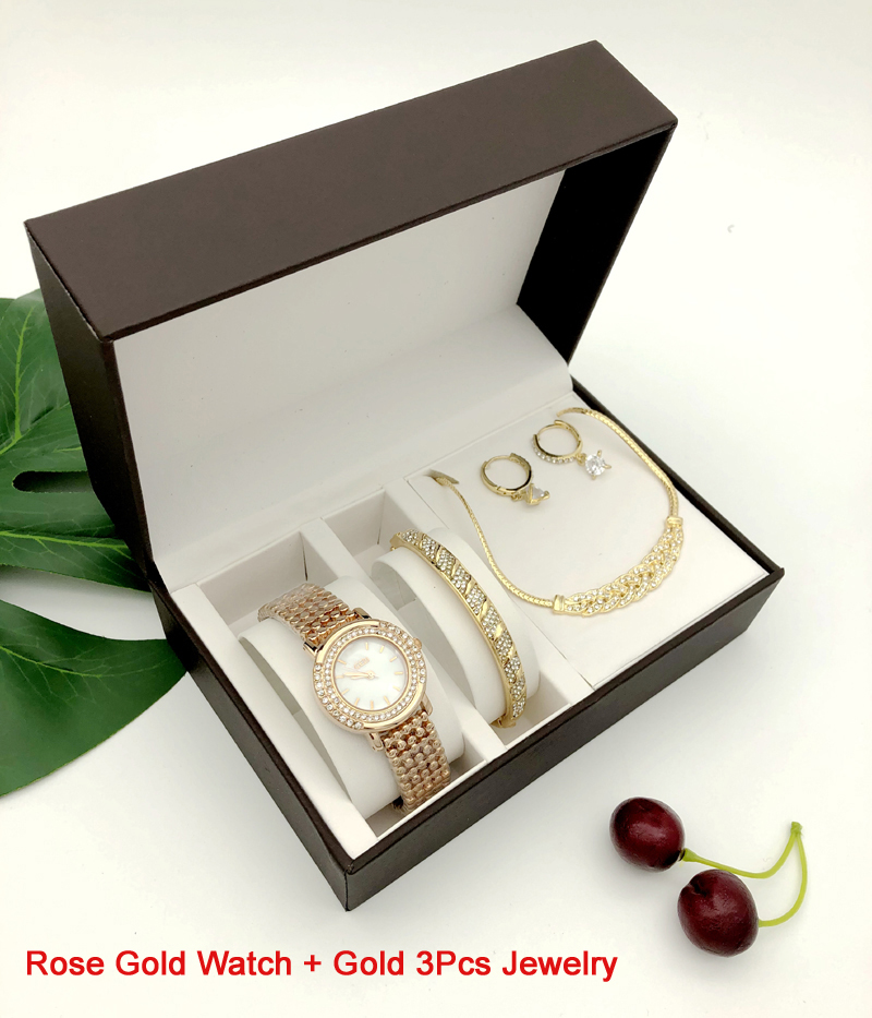 Ensemble Bijoux de luxe 4 pièces Fashion 1