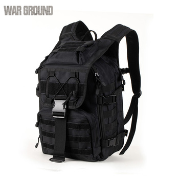 WAR GROUND Military Tactical 1000D Nylon 40L Backpack Mens Travel Bags Sports Camping Hiking Fishing Outdoor Camouflage Bags 6