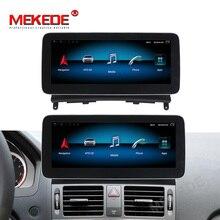 Ocho núcleos! android 9,0 Radio, navegación GPS para coche reproductor para Mercedes-benz Clase C W204 2008-2010 4GB + 64GB 4G LTE wifi BT carplay