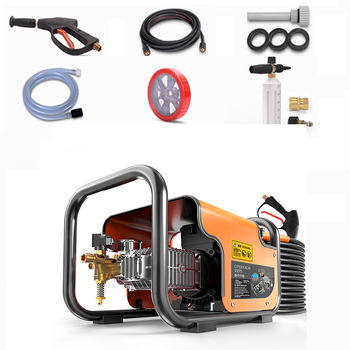 High Pressure Cleaner Car Wash Pump Washer For Car Water Gun Gardening Tools and Equipment Machine Commercial AC220V 1600W 220v high pressure cleaner car wash greenworks for car water gardening tools equipment machine home portable washer pump 1400w