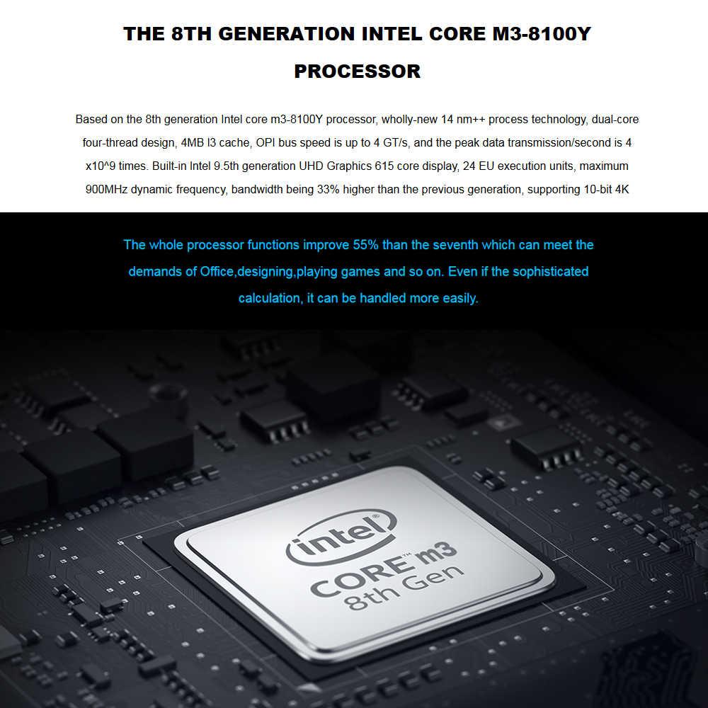 GPD P2 ماكس 8.9 بوصة كمبيوتر محمول صغير الكمبيوتر اللوحي ويندوز 10 إنتل m3-8100Y دفتر 16 GB/512 GB 2.4G و 5G WiFi BT 4.2 التحكم باللمس