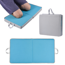 Memory Sponge Kneeling Pad Thick Mat with Carry Handles for Gardening Housework