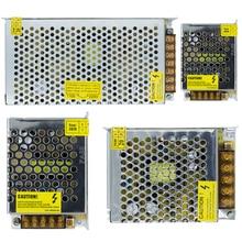 หลอดไฟAC110V 220V DC 12V 24Vอะแดปเตอร์ 3A 5A 10A LED Stripสวิทช์