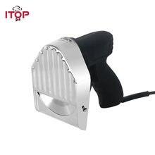 Электрический слайсер itop для кебаба нож шаурмы с 2 лезвиями