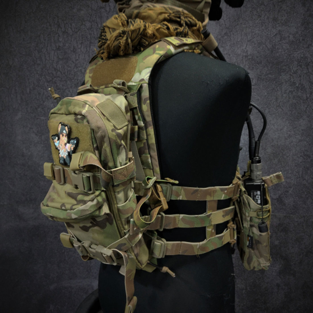 DMGear Universal Tactical MK Series Chest Rig Back Plate