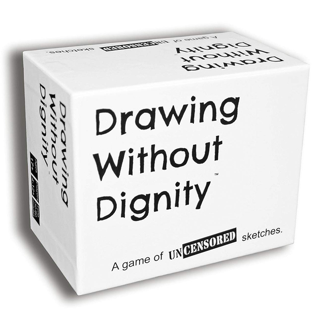 Drawing Without Dignity A NEW Adult Party Card Game of Uncensored Sketches Board Groups Families Friends Parties Gathering Gift 2